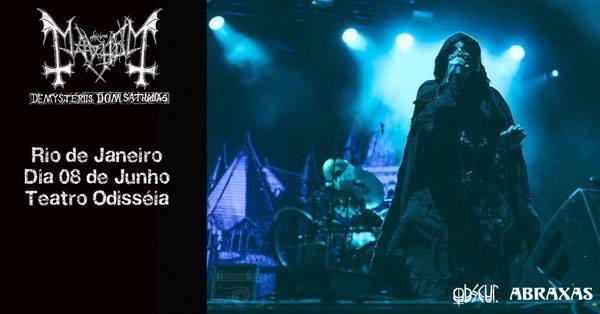 Mayhem - show no Rio 1