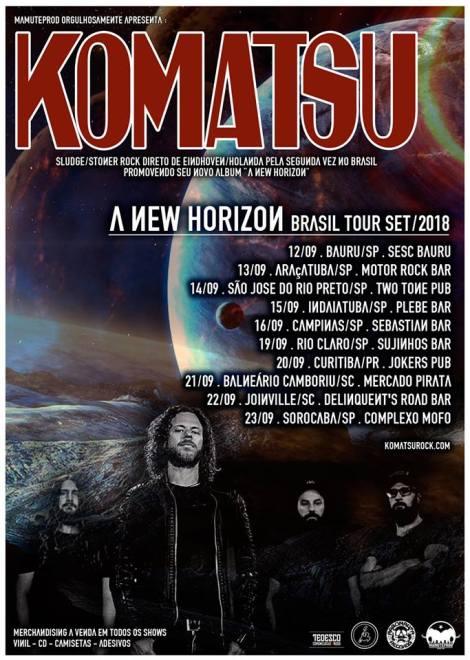 Komatsu tour 2018 novo