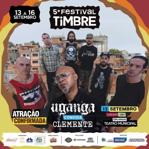 Uganga Convida Clemente - Festival Timbre